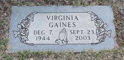 Virginia <i>Loyd</i> Gaines