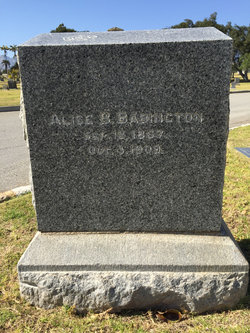 Alice <i>Beel</i> Babington