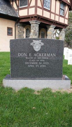 Don Eugene Ackerman