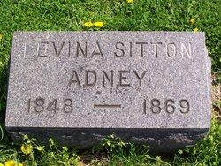 Levina <i>Sitton</i> Adney