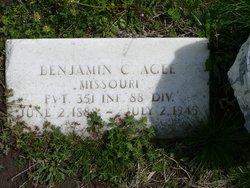 Benjamin Clarence Agee