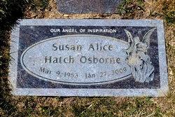 Susan Alice <i>Hatch</i> Osborne