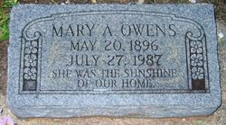 Mary Uceba <i>Fortenberry</i> Ard Owens