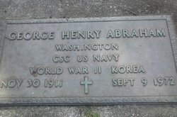 George Henery Abraham