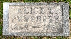 Alice Leah <i>Rider</i> Pumphrey