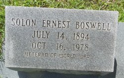 Solon Ernest Boswell