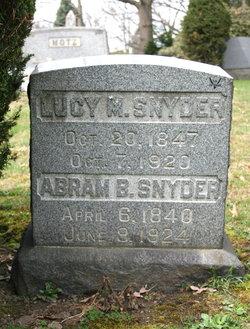 Lucy M <i>Dingman</i> Snyder