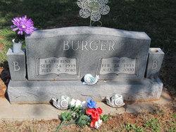 Eula Katherine Kathy <i>Ewing</i> Burger