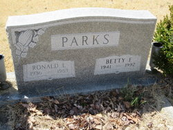 Betty F <i>Endler</i> Parks