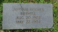 Johnnie Hughes Boswell
