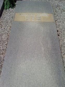 Willa Annie Girlie <i>Davis</i> Daniels