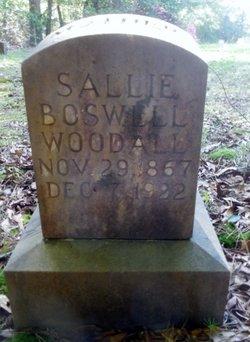 Sallie <i>Boswell</i> Woodall