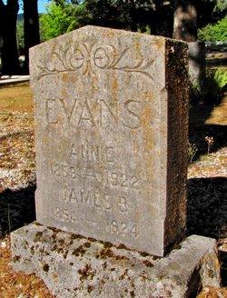 Annie <i>Morgan</i> Evans