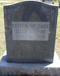 Fredrick Wilson Fred McGhee