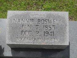 Nannie Emma <i>Boswell</i> Wilkes