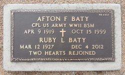 Ruby Lee <i>House</i> Baty