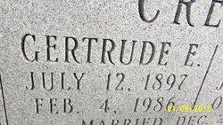 Gertrude E. <i>Lyon</i> Creech