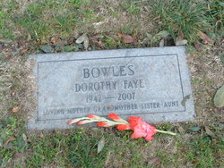 Dorothy Faye <i>Bowles</i> Aguero