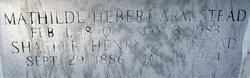 Mathilde <i>Hebert</i> Armstead