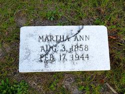 Martha Ann Branson