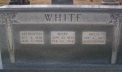 Mary <i>French</i> White