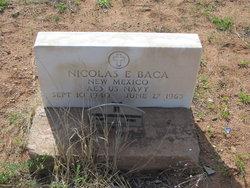 Nicolas E Baca