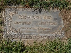 Geraldine <i>Georges</i> Biby