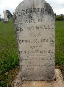 Elizabeth Ann <i>Havens</i> Howell