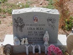 Isidora Lola <i>Garcia.</i> Blea