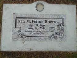 Ivan McFerron Brown