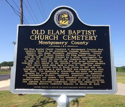 Old Elam Missionary Baptist Church Cemetery