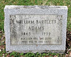 William Bartlett Adams