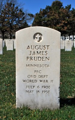 PFC August James Pruden, Jr
