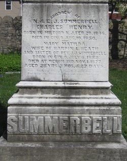 Mary Matilda <i>Summerbell</i> Heath