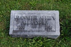 Jeannette <i>Austen</i> Alexander