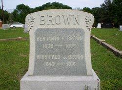 Benjamin Franklin Brown, Sr