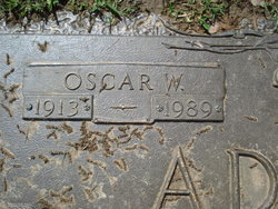 Oscar W Admire