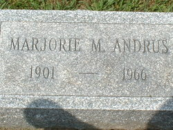 Marjorie M. <i>Arnold</i> Andrus