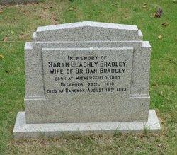 Sarah <i>Blachly</i> Bradley