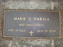 Marie D <i>Ontiveros</i> Harsla