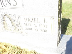 Hazel I <i>Johnson</i> Burns