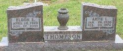 Artie I <i>Thompson</i> Thompson