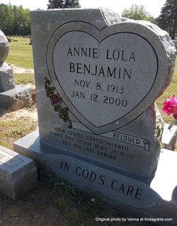 Annie Lola <i>Thompson</i> Benjamin