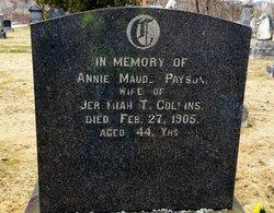 Annie Maude <i>Payson</i> Collins
