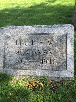 Lucille <i>Wright</i> Ackerman
