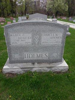 Mabel C <i>Dunlap</i> Holmes