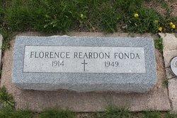 Florence <i>Reardon</i> Fonda