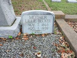 Lillie <i>Voelkel</i> Becker