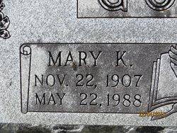 Mary Katherine <i>PEBECK</i> Gober