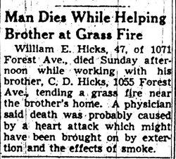 William Eugene Hicks